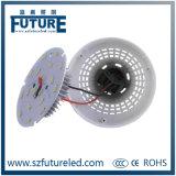 La lumière d'ampoule la plus chaude de la lampe E27 9W DEL avec le radiateur