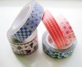 Impresa colorida cinta de papelería Escuela Decoración libro