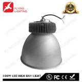 100W LED hohe Bucht-industrielles Licht mit 5 Jahren Garantie-