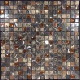 混合されたカラー住宅建設の物質的な性質の石のモザイク(FYSMG127)
