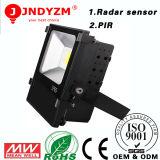 Personalização Radar Sensor e diodo emissor de luz Flood Light de PIR 20W