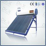 圧力弁との銅のヒートパイプDIYの太陽給湯装置の計画