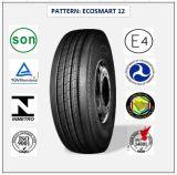 255/70r22.5 (ECOSMART 12) mit Qualitäts-LKW der Europa-Bescheinigungs-(ECE-REICHWEITE-KENNSATZ) u. Bus-Radialgummireifen