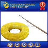 Câble tressé de température élevée de la fibre de verre 450c 300V de bande du mica UL5128