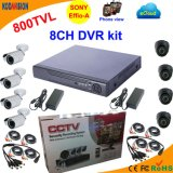 8 CCTV System do Cms Software da canaleta 800tvl Free