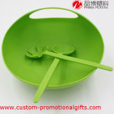 Cucina Use Plastic Large Salad Bowl con Salad Servers