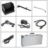 공장 가격 정부 1080P HD 디지털 7inch DVR 모니터를 가진 소형 아래 차량 검사 사진기