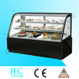Черный холодильник индикации мраморный торта