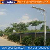 Профессиональное освещение дороги уличного света изготовления 25W солнечное СПРЯТАННОЕ СИД