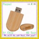 Movimentações do USB do bambu da alta qualidade da capacidade total