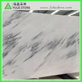 Black Veinsの中国のSky White Marble Slabs