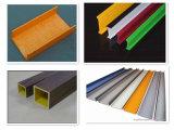 Zubehör-hochfestes gutes korrosionsbeständiges Fiberglas-Quadrat-Gefäß