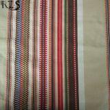 Le filé 100% tissé par jacquard de coton a teint le tissu pour des chemises/robe Rls21-6ja