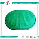 Optical Fiber Cable를 위한 FRP GRP Elliptical Manhole Cover