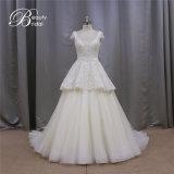 Ультрамодный тип линия Bridal отбортованные платья