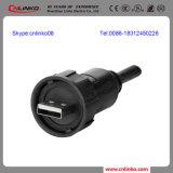 USB doble Port/USB del uso al conectador redondo Cable/USB2.0 para el equipamiento médico