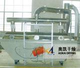 Secador de vibração da base fluida da série de Zlg