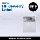 RFID는 PVC UHF 보석 레이블 H3 ISO18000-6C를 방수 처리한다