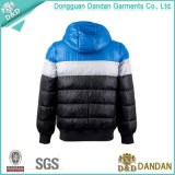 Contraste Color Fashion Down Jacket para Men