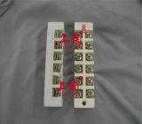 Bloco terminal vitrificado cilíndrico redondo do conetor cerâmico da porcelana