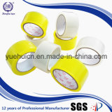 A água do OEM da garantia de qualidade ativou a fita desobstruída amarela da embalagem