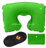 En forma de U inflable Almohada para cuello de la almohadilla del coche Buena promocional
