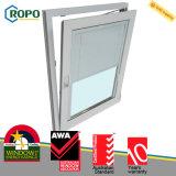 Veka 70 milímetros de inclinación de UPVC y diseño de la ventana de la vuelta, fabricante de la ventana de UPVC