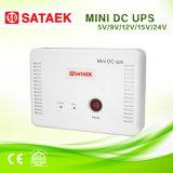 mini UPS 5V/9V/12V/15V/24V portátil com as baterias 6000mAh/12000mAh