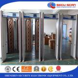 Tener en la caminata común a través del detector de metales AT-300C para la puerta al aire libre del detector de metales del marco de puerta del uso