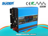 Suoer 500W bouwen-in Solar Controller 10A gelijkstroom 12V aan AC 220V Solar Charge Inverter (sus-500A)
