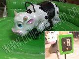 아이를 위한 녹색 둥근 매트 기계적인 아기 Bull