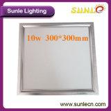 luz de techo del cuadrado LED de la luz del panel de techo de 10W LED