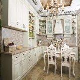 Europäische Art-fester hölzerner Küche-Schrank