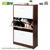 Gabinete de madeira da sapata 3-Door (WS16-0208)