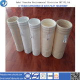 Sachet filtre non-tissé de collecteur de poussière de PTFE pour l'usine d'énergie hydroélectrique