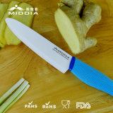 Nuevos cuchillos de cerámica del cocinero de los cuchillos de cocina del diseño en 6 pulgadas