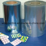 0.08-0.8mm透過明確な着色されたPVC堅いフィルムの薬剤の等級