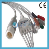 Hochdruck 8pins 3 Lead ECG Cable