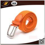 Bester verkaufender gute Qualitätsjeans-Gewebe-umsponnener elastischer Riemen mit Pin-Faltenbildung
