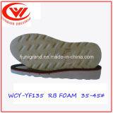 Взбираясь подошва пены Outsole ботинок резиновый для обуви