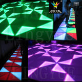 luz do diodo emissor de luz Dance Floor do DJ DMX do partido do estágio de 80W 8mm