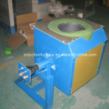 Mini Medium Frequency Induction Furnace pour Melting Copper Iron Steel Aluminum