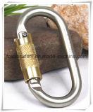 Металл сформированный o взбираясь Carabiner высокия уровня безопасности