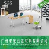 Moderne Büro-Möbel, Büro-Executivschreibtisch mit Schrank