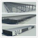 Einfach Lager-aufbauende Stahlkonstruktion installieren und zusammenbauen
