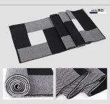 人の方法ウールによって編まれる冬の暖かく長いスカーフ(YKY4621)