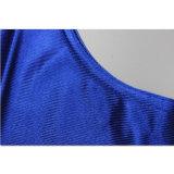 Camiseta apta azul del baloncesto de Dri del verano de China del desgaste al por mayor de los deportes