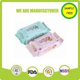 Trapos mojados de piel del cuidado del uso popular del bebé