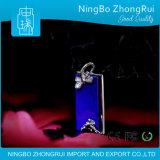 Farfalla e fiore Pendant dei monili del Lazuli di Lapis dell'argento sterlina di stile cinese 925