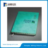 Cuaderno de la cubierta de la PU con el bloqueo especial